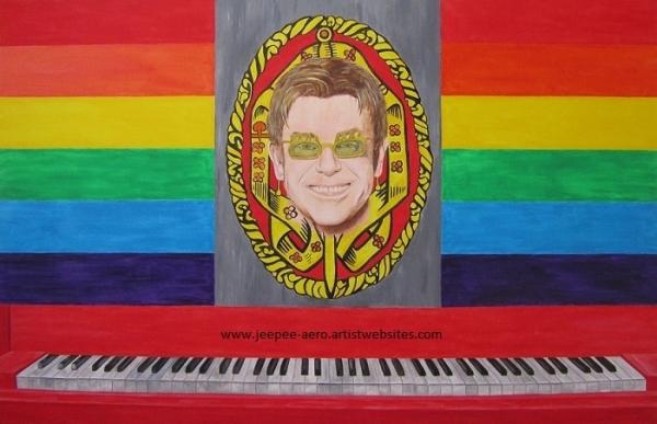 Elton John por jeepeeaero